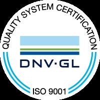 dnv gl iso 9001 logo vector